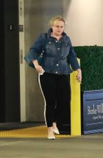 Rebel Wilson Is winding down and enjoying her Friday at a Los Angeles spa