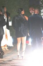 Rihanna Arrives at the Chateau Marmont for Jay-Z and Beyonce