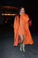 Rihanna Arriving at Bergdorf Goodman for her Fenty launch in New York