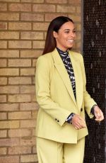 Rochelle Humes and Alison Hammond spotted at the ITV Studios