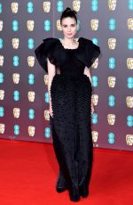 Rooney Mara At EE British Academy Film Awards in London
