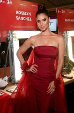 Roselyn Sanchez At Go Red For Women Red Dress Collection 2020 in NYC