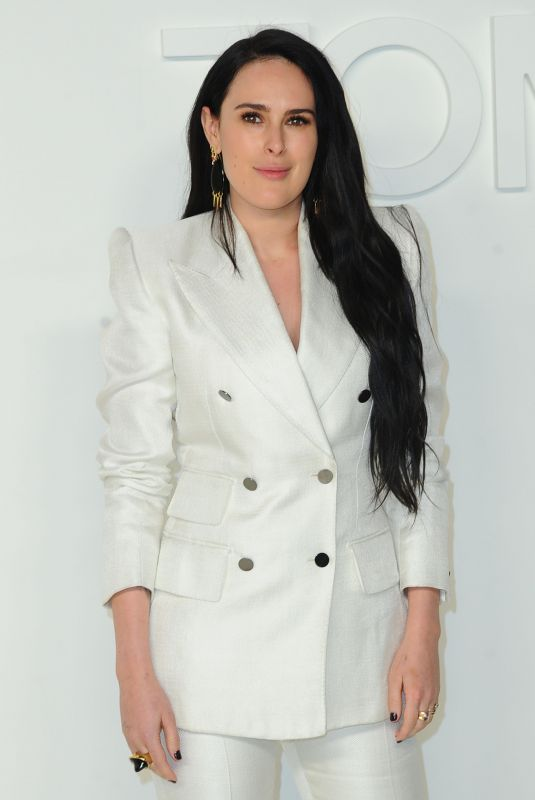 Rumer Willis At Tom Ford show Fall Winter 2020 Los Angeles