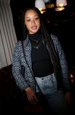 Salem Mitchell At Coach show, Afterparty, Fall Winter 2020, New York Fashion Week