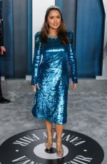 Salma Hayek Attends the 2020 Vanity Fair Oscar Party