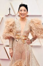 Sandra Oh At 92nd Annual Academy Awards at Hollywood and Highland in Hollywood