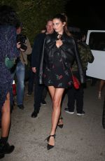 Sara Sampaio Arrives at the WME Pre-Oscars Party at a private residence in Hollywood