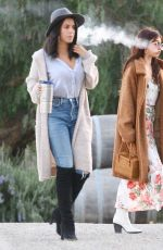 Sarah Hyland Hosts a private party at a winery in Ojai