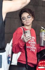 Sarah Hyland Leaving the Dogpoung Gym in West Hollywood