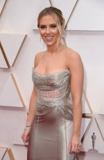Scarlett Johansson At 92nd annual Academy Awards at the Dolby Theater in Los Angeles