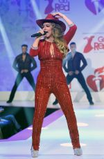 Shania Twain At Go Red For Women Red Dress Collection 2020 in NYC