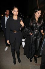 Shanina Shaik Arriving at the Love Magazine Party in London