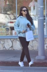 Shay Mitchell Goes out for a morning coffee in Studio City