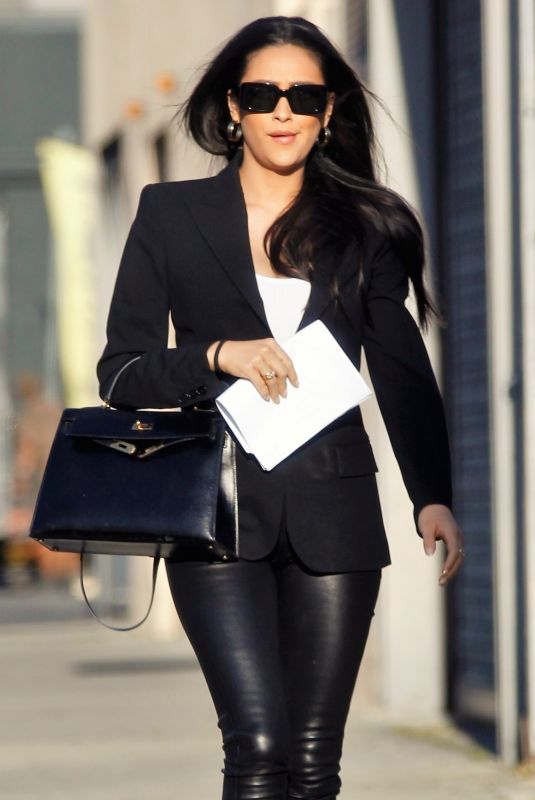 Shay Mitchell Is back to work in Culver City