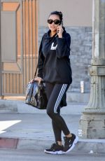 Shay Mitchell Leaving the gym in LA