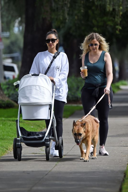 Shay Mitchell Out with her daughter in LA