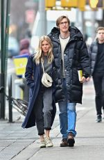 Sienna Miller and Lucas Zwirner seem deeply in love as they enjoy a romantic walk together around the West Village