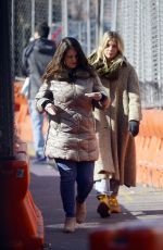 Sienna Miller Bundles Up For The Freezing New York City Temperature