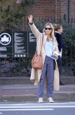 Sienna Miller Is pictured on a solo outing in New York City