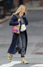 Sienna Miller On her phone out in NYC