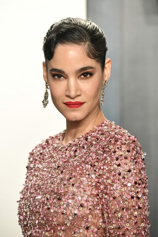Sofia Boutella At 2020 Vanity Fair Oscar Party in Beverly Hills