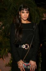 Sofia Boutella At Charles Finch and Chanel Pre-Oscar Awards Dinner in LA