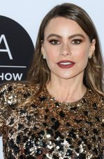 Sofia Vergara At Los Angeles Art Show 2020 Opening Night Gala at the Los Angeles Convention Center