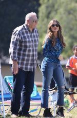 Sofia Vergara Films some of her last scenes for the