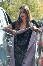 Sofia Vergara Gets a ride with her son Manolo as she leaves a party in Los Angeles