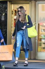 Sofia Vergara Shopping trip at Saks Fifth Avenue in Beverly Hills