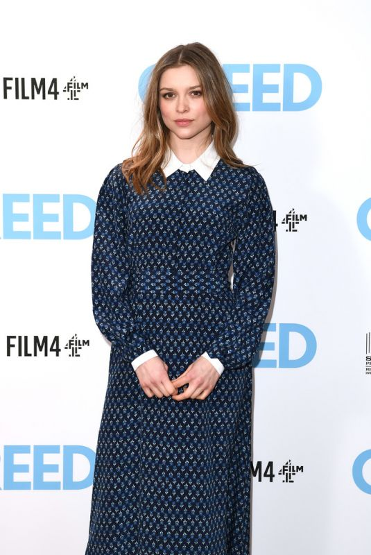 Sophie Cookson At Greed Special Screening in London