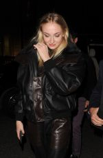 Sophie Turner At night out in London