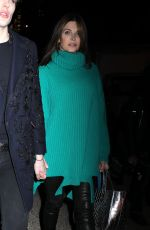 """Stephanie Seymour Pictured leaving the """"Marc Jacobs"""" Fashion Show in Uptown, Manhattan"""