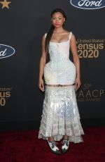 Storm Reid At 51st NAACP Image Awards - Arrivals