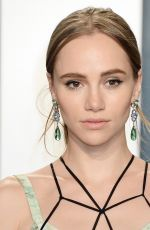 Suki Waterhouse At Vanity Fair Oscar Party in Los Angeles