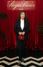 Susan Sarandon At Roger Vivier Dinner to Celebrate the release of