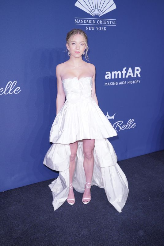 Sydney Sweeney At 22nd annual amfAR Gala Benefit For AIDS Research in NYC