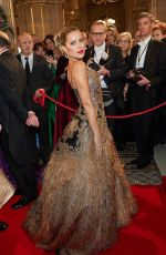 Sylvie Meis At Opernball 2020 at Staatsoper in Vienna