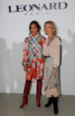 Sylvie Tellier At Leonard show as part of the Paris Fashion Week