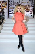 Tallia Storm At Paul Costelloe Catwalk show at London Fashion Week