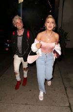 Tana Mongeau Spotted leaving a comedy club in Hollywood