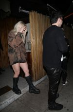 Tana Mongeau Spotted leaving the Nice Guy with friends in West Hollywood
