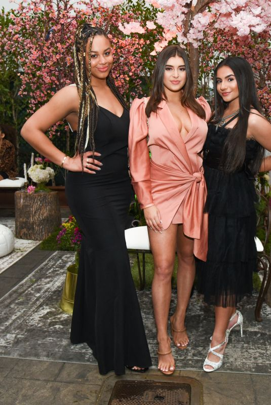 Tati McQuay At Betsey Johnson x Loren Gray Prom Collection Garden Party in West Hollywood