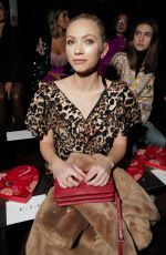 Tavi Gevinson At Rodarte show, Front Row, Fall Winter 2020, New York Fashion Week