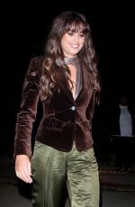 Taylor Hill Arriving at the WME Pre-Oscars Party in Hollywood