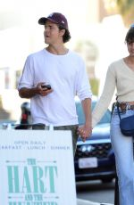 Taylor Hill Gets Close with New Boyfriend Daniel Fryer in Los Angeles