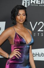 Taylor Rooks At Sports Illustrated Super Bowl LIV Party, Arrivals, The Fontainebleau, Miami