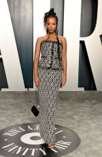Taylor Russell At Vanity Fair Oscar Party in LA