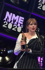 Taylor Swift At NME Awards 2020 in London