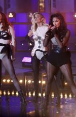 The Pussycat Dolls Performing at the BBC for the One Show in London